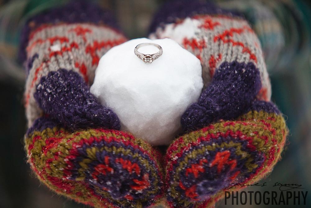 wichita wedding photographers, engagement photos snow, winter engagement photos, wichita wedding photographer, kansas wedding photographers, james sanny photography